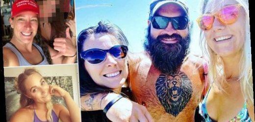Ashli Babbitt and her Marine husband were in a THROUPLE