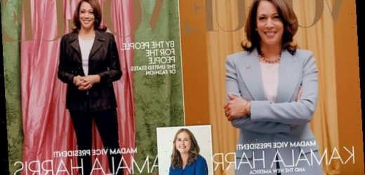 ALEXANDRA SHULMAN: Kamala Harris pictures are as flat as her sneakers