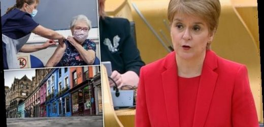 Nicola Sturgeon EXTENDS Scottish lockdown until mid-February