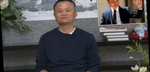 Alibaba founder Jack Ma makes his first appearance in two months