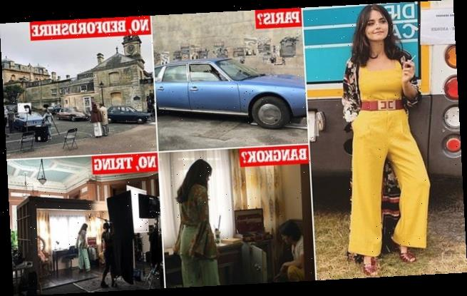 BBC drama filmed near Luton and Tring but takes us to India and France