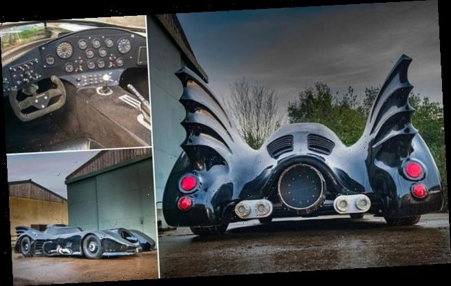 Museum puts road legal replica of BATMOBILE up for sale for £30,000