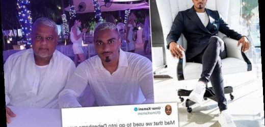Boohoo boss' playboy son hails father's £55million Debenhams takeover