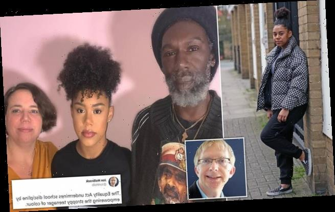 Barrister is slammed in racism row