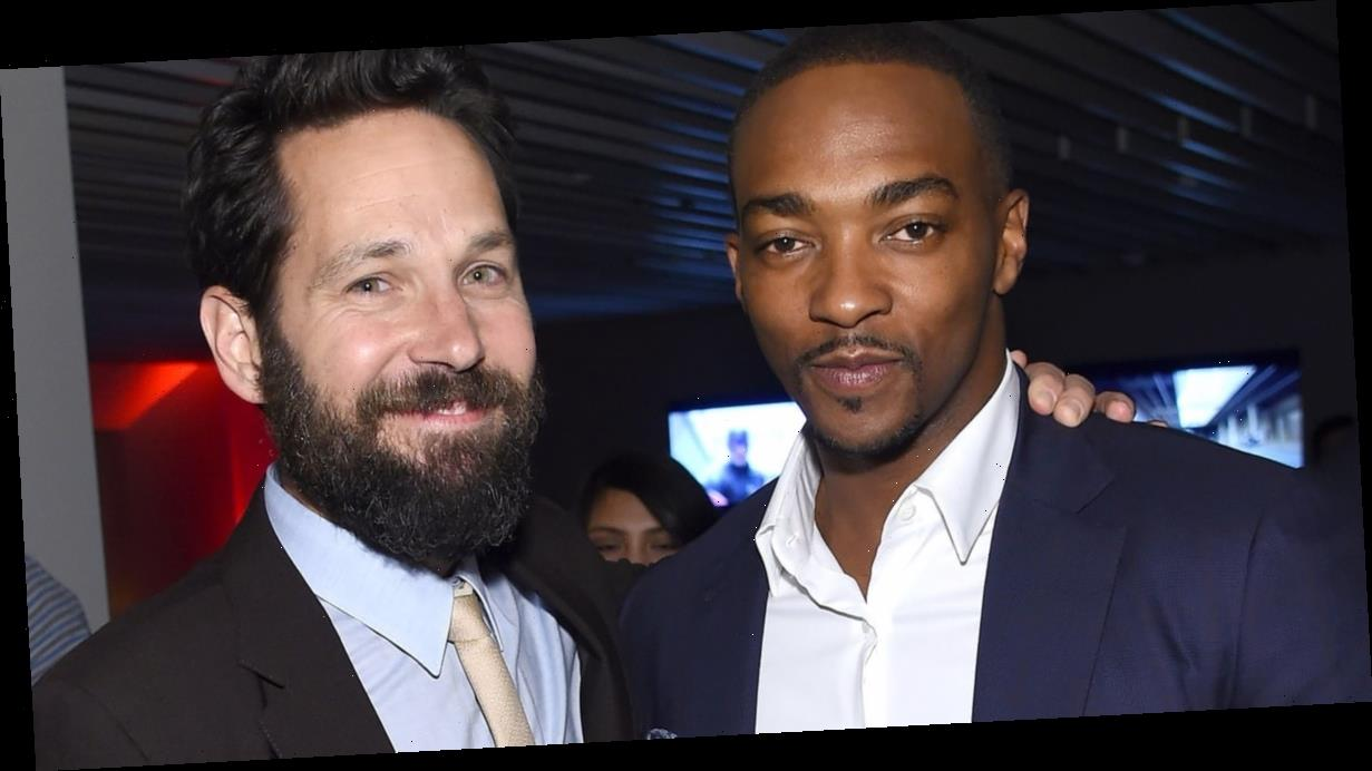 """Anthony Mackie Says Paul Rudd Throws Shade by Talking """"Intellectual Trash,"""" and We Believe It"""