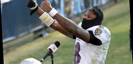 How Ravens' Lamar Jackson changed his playoff narrative was telling