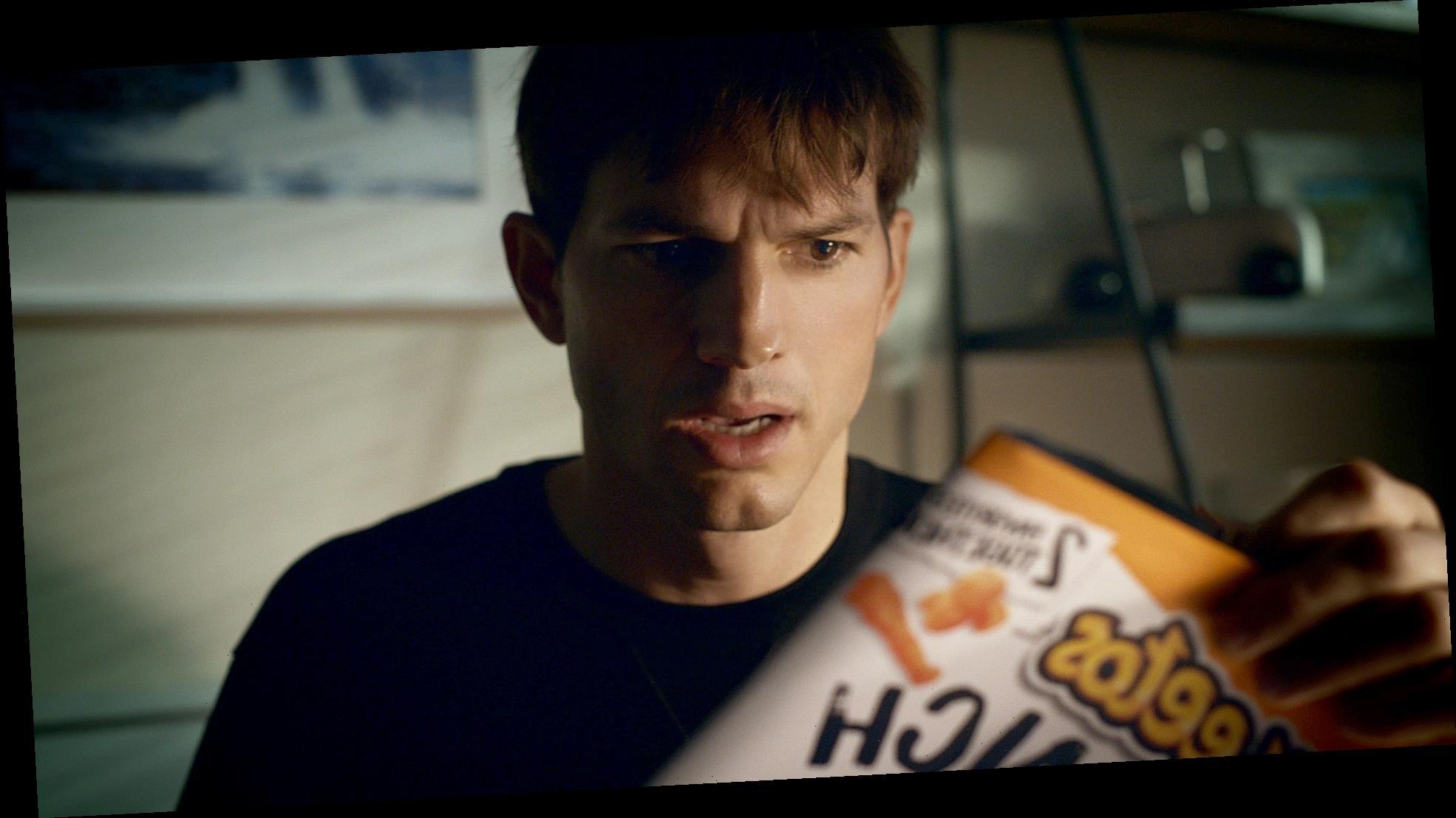 Ashton Kutcher Stars in New Cheetos Super Bowl Ad Teaser: Watch