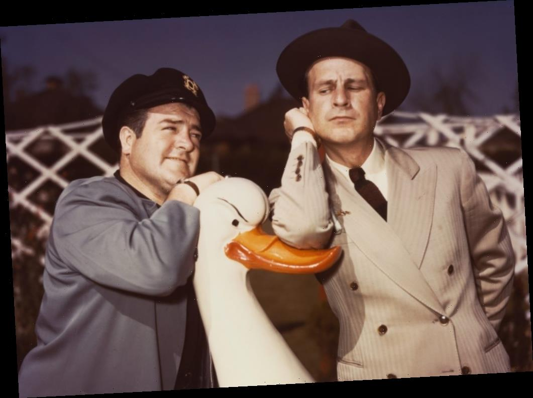 Comedy Duo Abbott and Costello Hated Each Other This Much