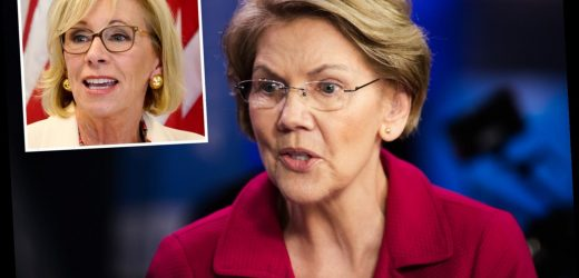 Betsy DeVos was 'worst Secretary of Education ever' says Elizabeth Warren after she quits over violent Capitol riots