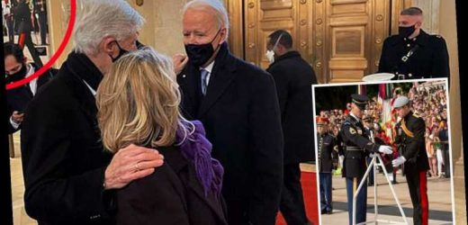 Prince Harry photo spotted at Joe Biden's presidential inauguration by eagle-eyed fans