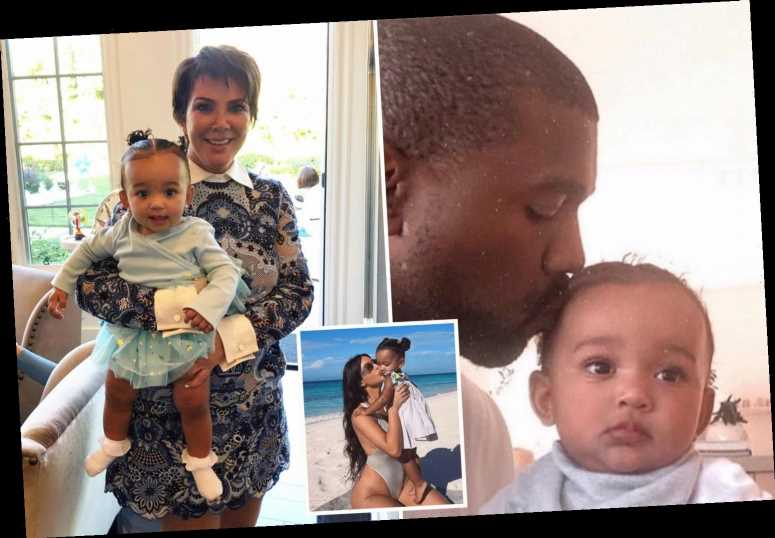 Kris Jenner includes Kanye West as she celebrates granddaughter Chicago's birthday, despite Kim Kardashian 'divorce'