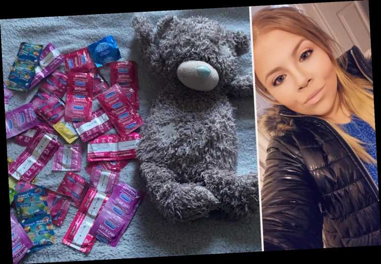 Woman cringes after her mum finds her HUGE stash of condoms from when she was a teen – & then jokes 'you started young'
