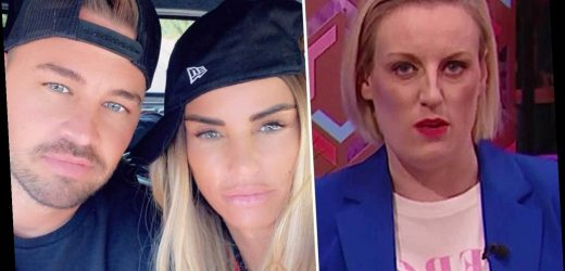 Steph McGovern calls Katie Price's toyboy Carl her SON in Packed Lunch blunder