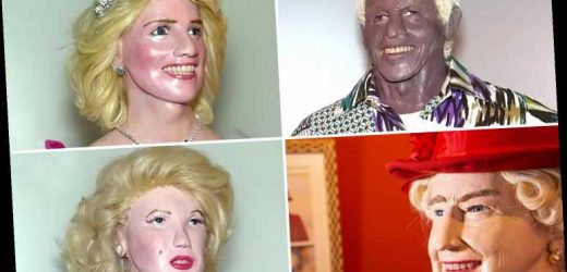 Sculptor sends fans into meltdown over world's worst celebrity waxworks – but can YOU guess who these faces belong to?
