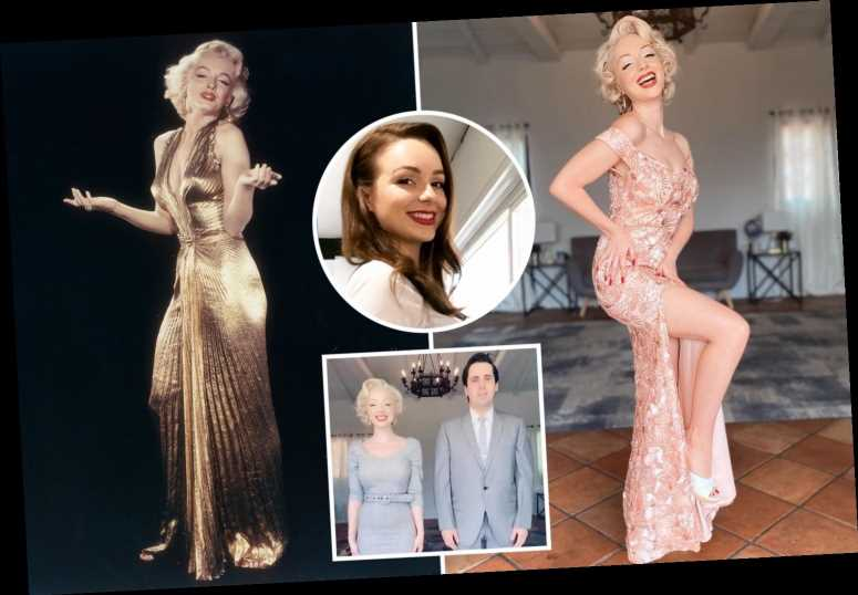 Brit told she'd 'amount to nothing' now makes a fortune as a Marilyn Monroe lookalike – and lives in her Hollywood home