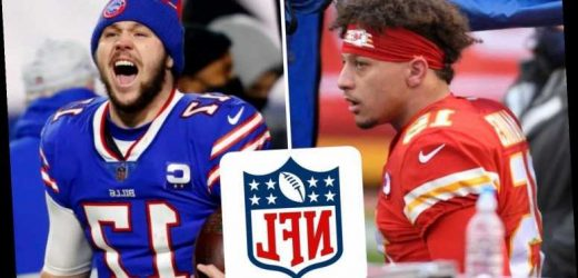 Kansas City Chiefs vs Buffalo Bills: TV channel, live stream and kick-off time with Super Bowl place up for grabs