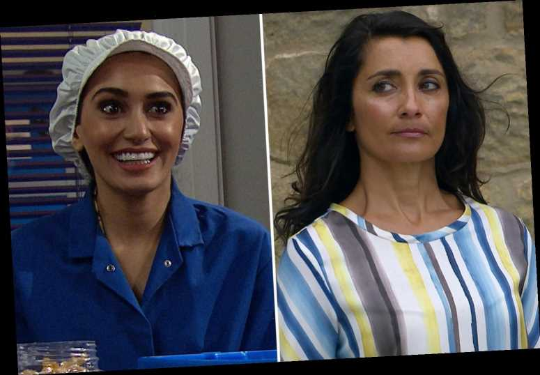 Emmerdale fans gobsmacked as Manpreet reveals truth behind young daughter with bigamy bombshell