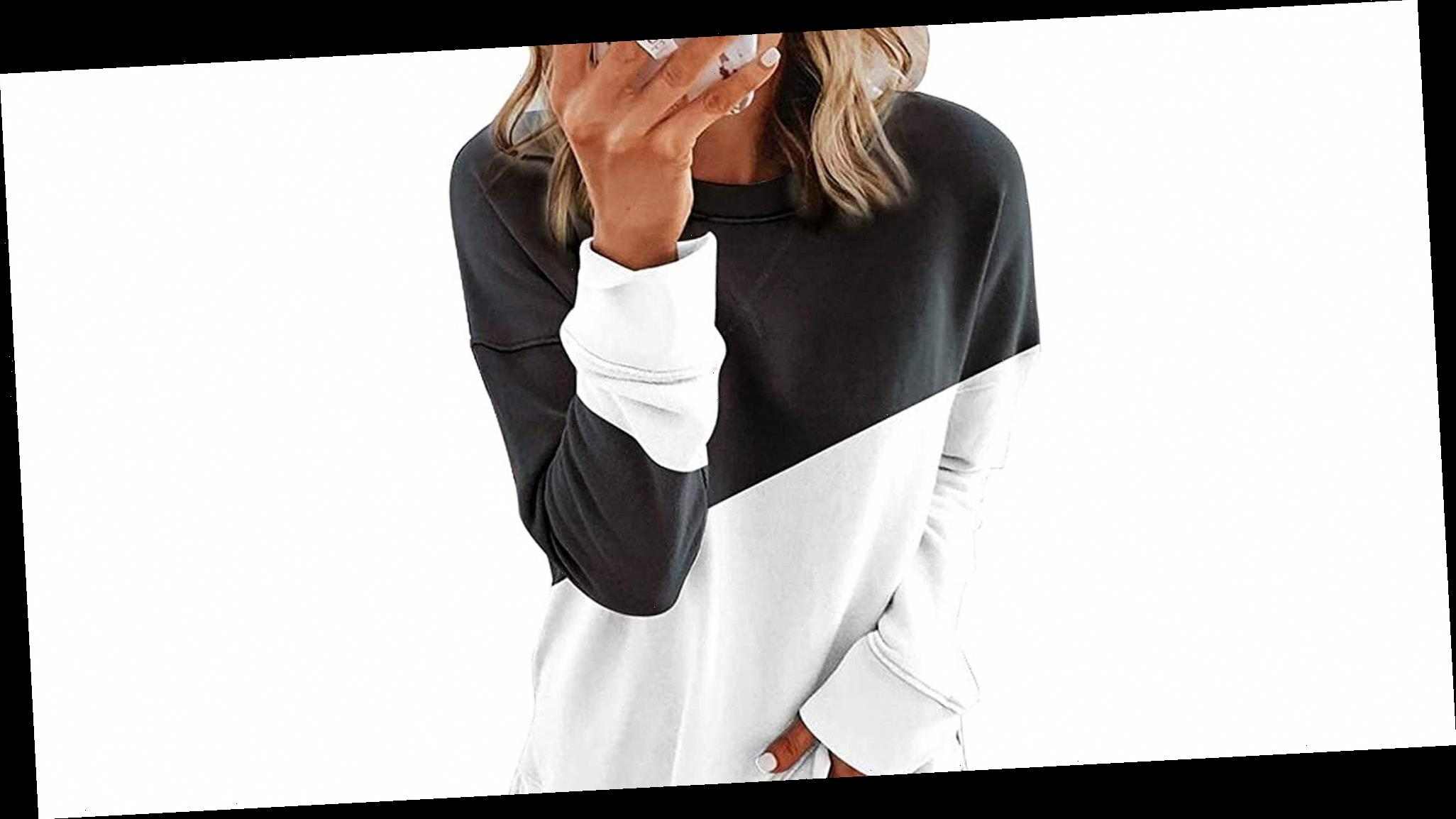 Pair This Sweatshirt With Leggings for the Ultimate Lazy Day Look