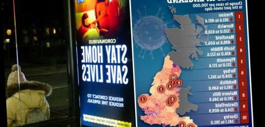 Interactive map reveals how bad Covid is in YOUR local area