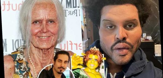 The Weeknd's freaky 'plastic surgery' was created by celebrity prosthetics artist who made Heidi Klum's Halloween looks
