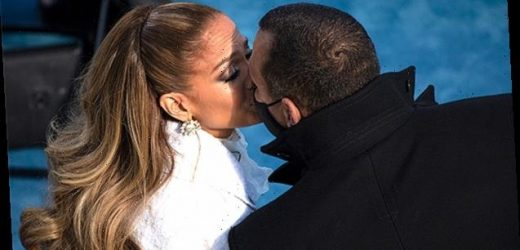 Jennifer Lopez Gets Congratulatory Kiss From A-Rod After Inauguration Performance