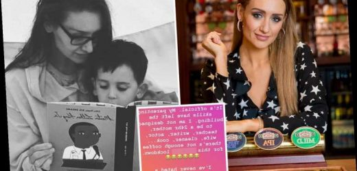 Coronation Street's Catherine Tyldesley says she's not 'designed to be a 24-hour mum, cleaner and cook' in lockdown rant