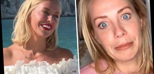 A Place In The Sun's Laura Hamilton mortified as she's forced to hide breastmilk stains during filming