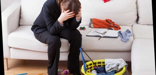 Two thirds of mums feel overwhelmed as they try to juggle household chores during lockdown