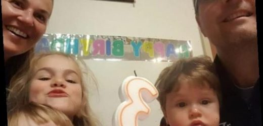 Mystery as 'happy' mum and three 'beautiful' kids aged 3, 5 and 7 are found dead at home in possible murder-suicide