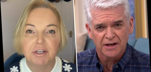 Phillip Schofield and India Willoughby clash as she says 'America is overreacting' over Capitol riots