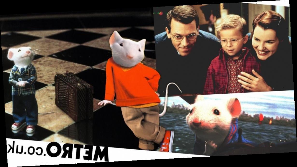Why does no one talk about how weird Stuart Little is?