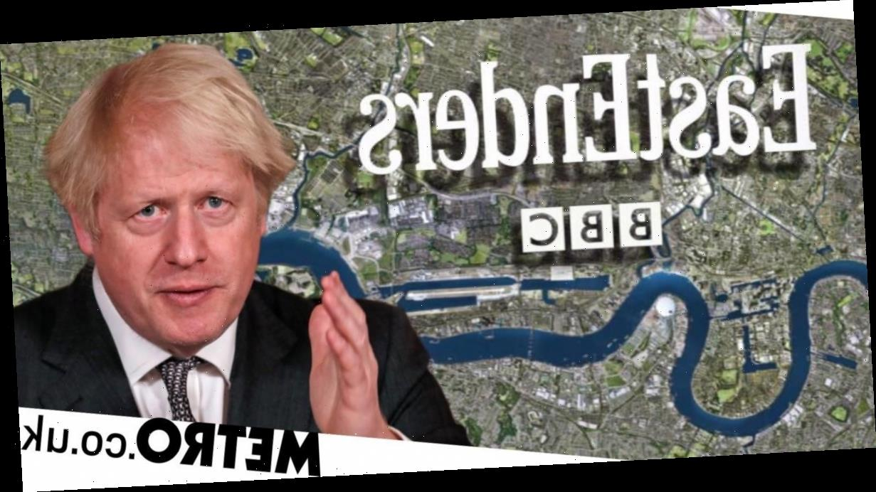 Boris Johnson forces EastEnders and Coronation Street into TV clash