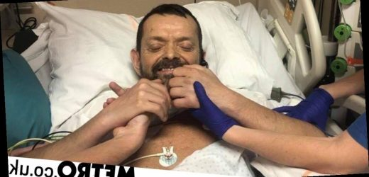 Man has world's first double arm and shoulder transplant decades after accident
