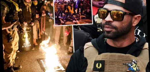 Judge BANS Proud Boys leader Henry Tarrio from D.C after his arrest for 'burning BLM flag' ahead of pro-Trump protests