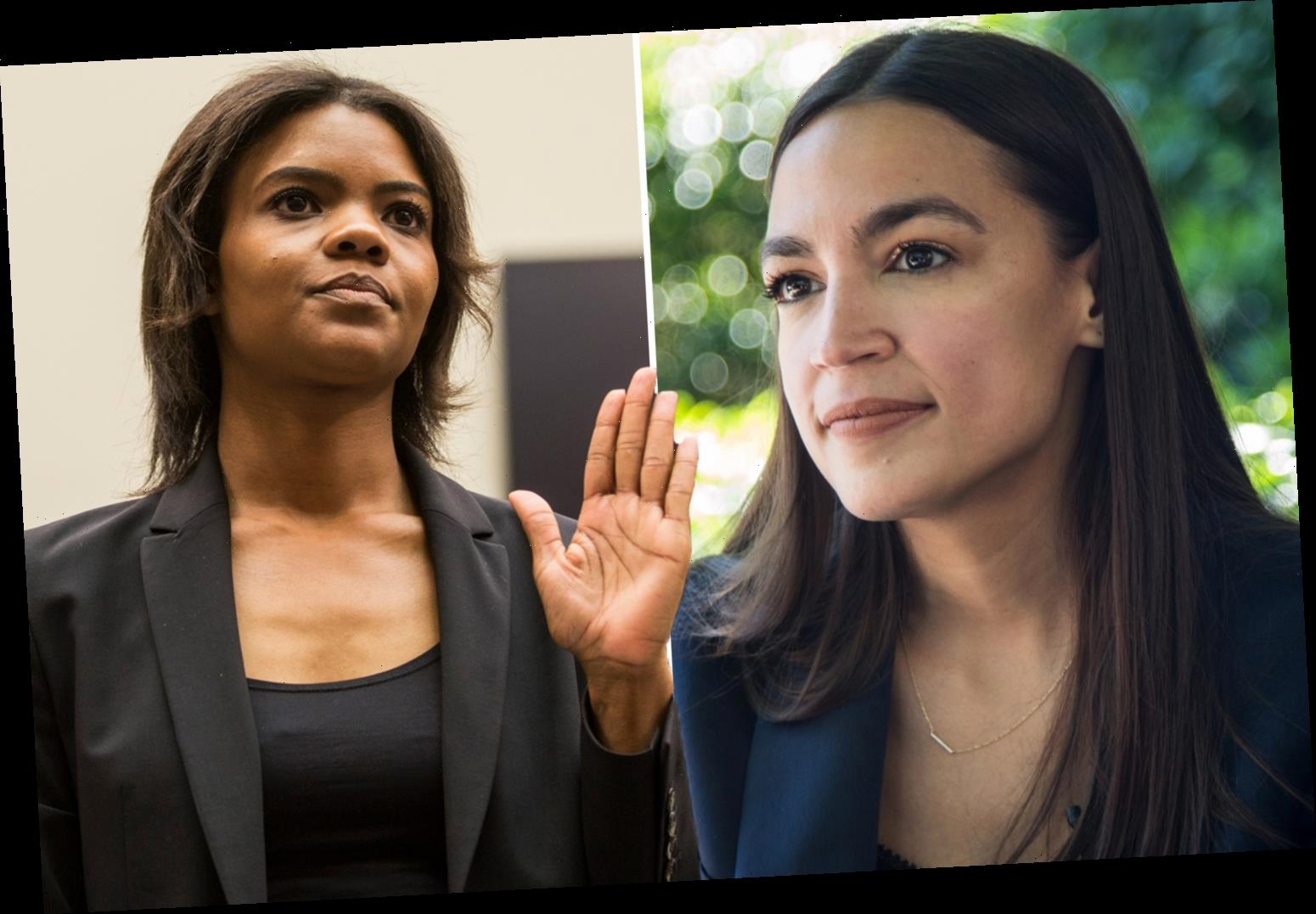 Candace Owens slams AOC for 'trying to cause an insurrection against ICE' and says ANTIFA 'attempted to murder agents'