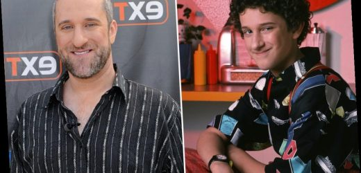 What type of cancer does Dustin Diamond have?