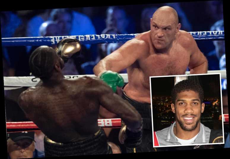 Anthony Joshua vs Tyson Fury 'WON'T happen this year' because of Deontay Wilder 'rematch clause' says Derek Chisora
