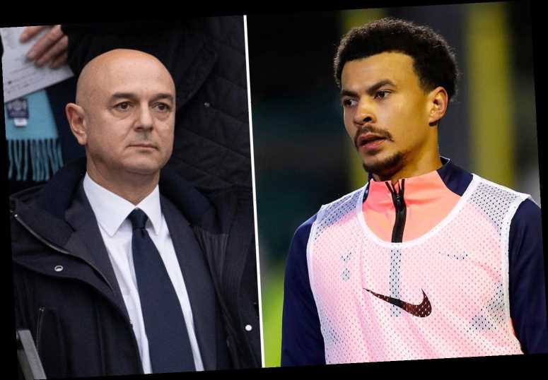 Dele Alli PSG transfer hinges on Daniel Levy after Mourinho gives green light with Tottenham chairman to make late call