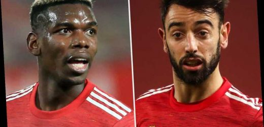 Bruno Fernandes hails Man Utd team-mate Paul Pogba's 'top' performance and warns rivals best is to come