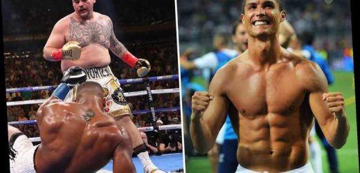 Ripped Cristiano Ronaldo praises Andy Ruiz Jr as CR7 says 'body doesn't matter' after Mexican stunned Anthony Joshua