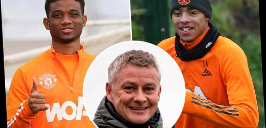 Amad Diallo already making huge impression in Man Utd training with Solskjaer looking like he's unearthed young gem