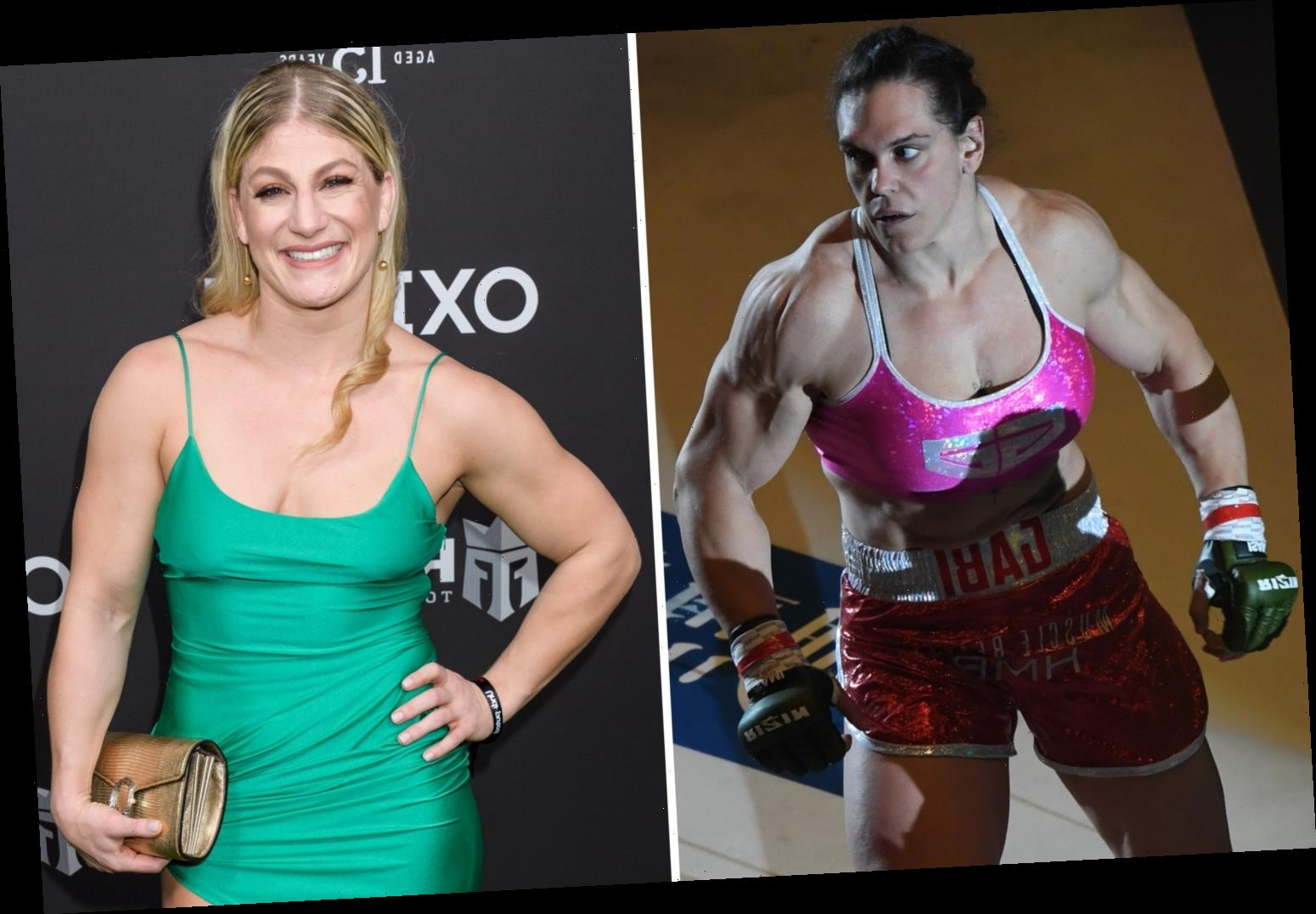 MMA heavyweight 'She Hulk' Gabi Garcia calls out lightweight Kayla Harrison who weighs almost SIX STONE less than her