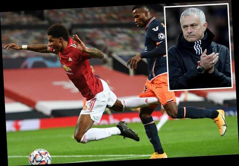 Man Utd star Marcus Rashford reveals Jose Mourinho made them 'savvier' at winning penalties