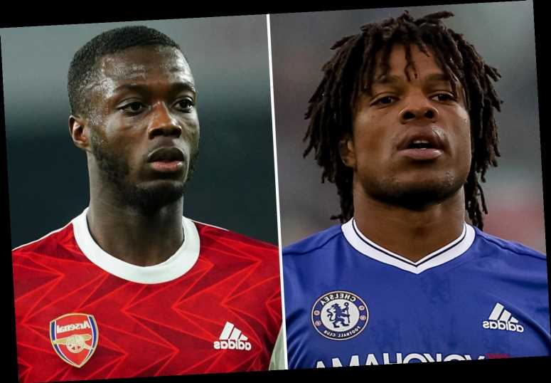Chelsea flop Remy warns Arsenal winger Nicolas Pepe 'you cannot have one day of being lazy' due to 'big club intensity'