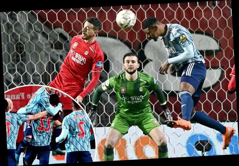 Sebastien Haller scores SEVEN MINUTES into full Ajax debut after West ham transfer exit