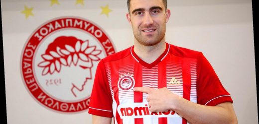 Ex-Arsenal defender Sokratis joins Olympiacos on free transfer in blow to Liverpool after Gunners contract terminated