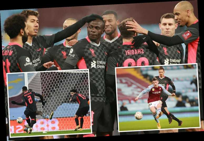 Aston Villa 1 Liverpool 4: Reds turn on style after heroic effort from Covid-hit Villans kids