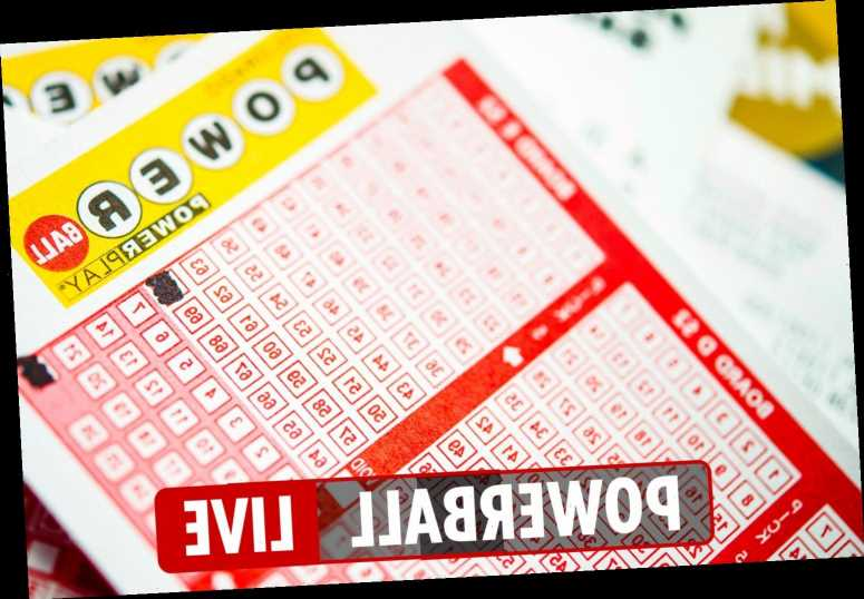 Powerball results LIVE: Winning numbers for Wednesday, January 13 – $550million jackpot