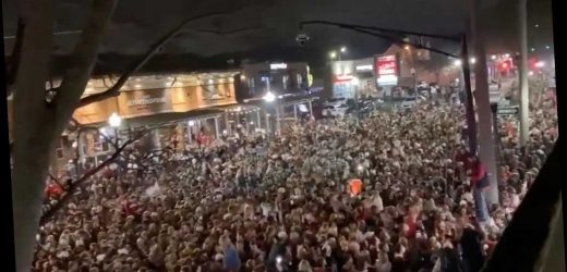 Maskless Alabama fans pack streets after national title win, ignoring COVID-19 warnings