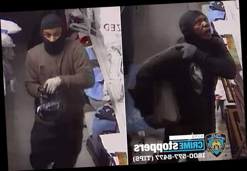 Burglars enter NYC store through roof, steal thousands: cops